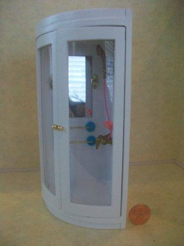 Shower Stall White T5294 16 00 Happily Ever After Dollhouses