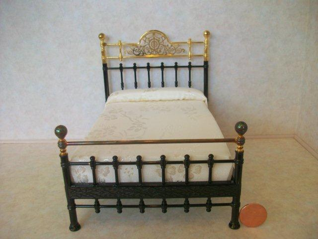 Metal Brass Double Bed