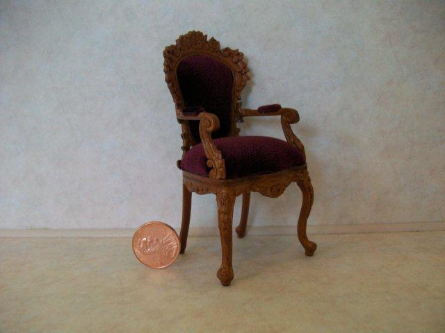 """Biltmore"" Vict. Arm Chair"