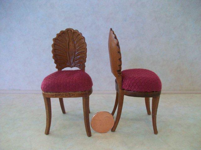 """Regency Shell"" Chairs - 2 pc"