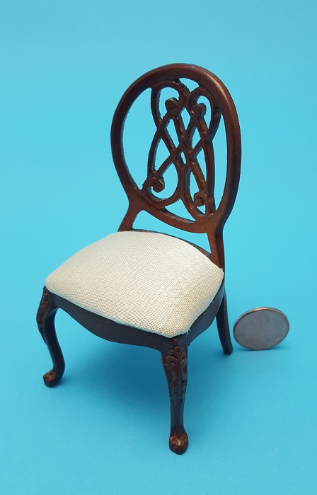 Scroll Back Side Chair