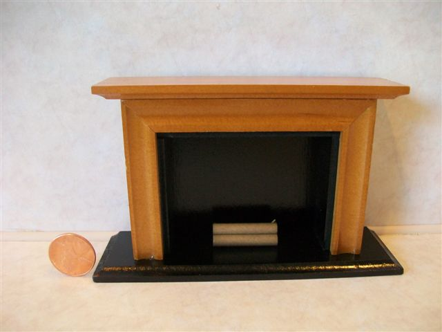 Fireplace - wood