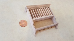 Unfinished Plate Rack Upper Cab