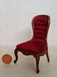 Spoon Back Chair - Red