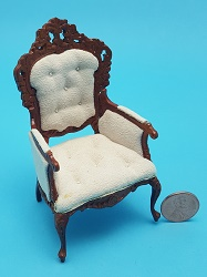 Button Tufted GMen's Chair
