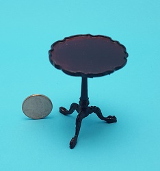 """Martha"" Tilt Top Table - Mahog"