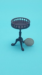 Small Tilt Top Table - Mahogan