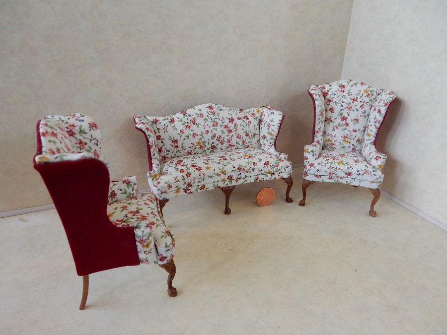 """Aunt May"" Parlor Set (3 pc)"