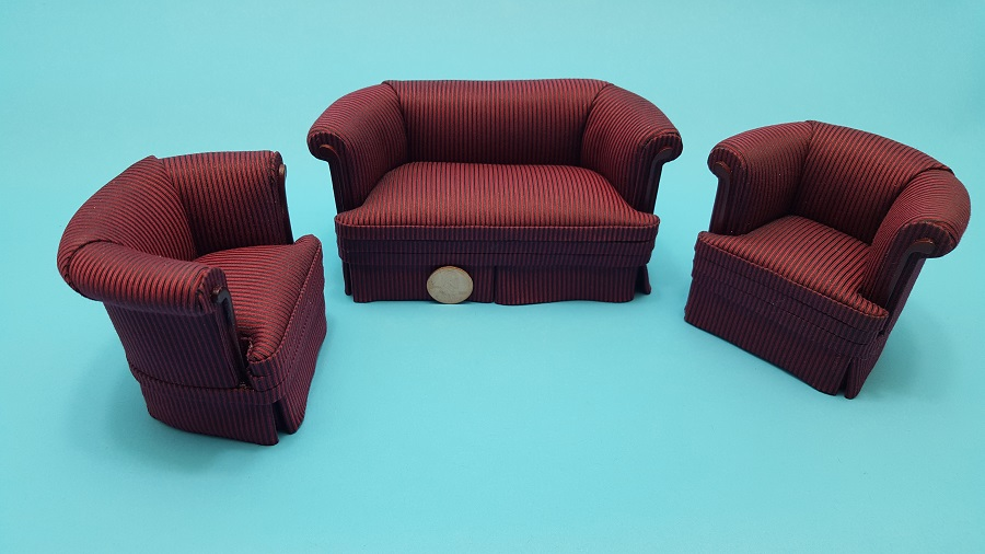 """Cabernet Stripe"" Club Set"