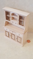 Unfinished Hutch with Shadowbox