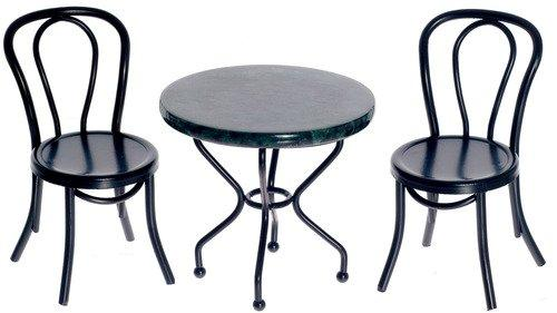 Marble top Iron Table Set