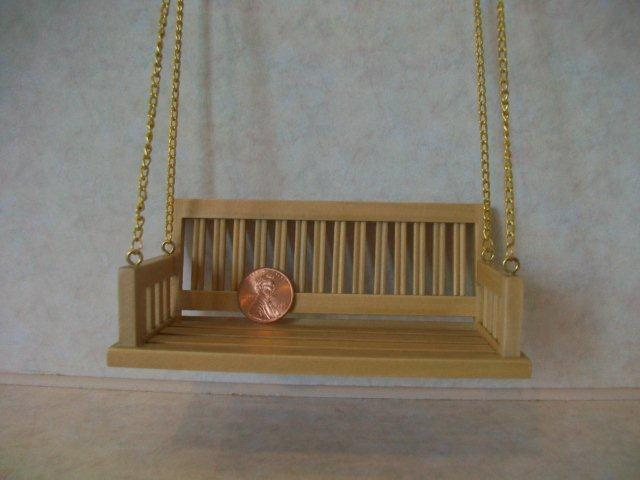 Porch Swing, Oak