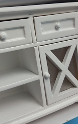 Buffet - White, for decoration
