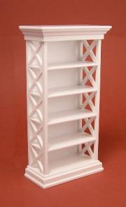 Bookshelf - white for decorati