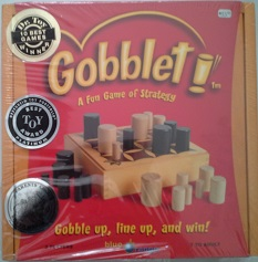 Gobblet, A Fun Game of Strateg