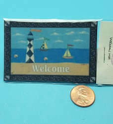 Sailboat Door Mat
